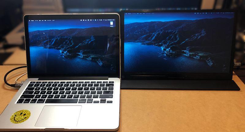 EVICIV EVC-1504とMacBook Pro13